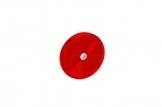 Светоотражатель Fristom круглый, красный с отверстием DOB-033 C