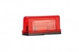Фонарь освещения номерного знака Fristom FT-022 красный