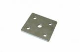 Пластина для крепления рессоры к оси (цинк)
