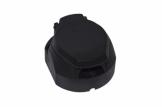 Розетка 7-контактная пластиковая (KNOTT)