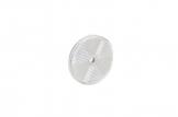 Светоотражатель Fristom круглый, белый с отверстием DOB-033 B